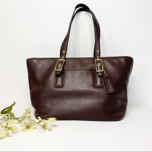 Coach Legacy Market Leather Tote #9847
